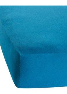 Простыня-чехол Модал (сине-зеленый) Bonprix