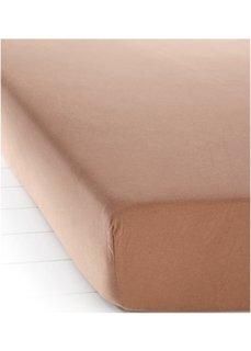 Простыня-чехол Джерси (шоколадный) Bonprix