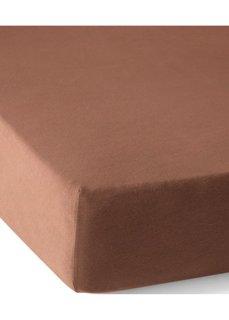 Трикотажная натяжная простыня для матраса высотой 40 см (шоколадный) Bonprix