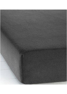 Простыня-чехол Фланель (черный) Bonprix