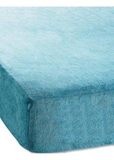 Простыня-чехол Ники (сине-зеленый) Bonprix