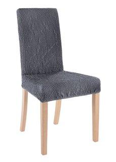 Чехол для стула Меланж (антрацитовый) Bonprix