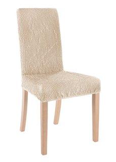 Чехол для стула Меланж (кремовый) Bonprix