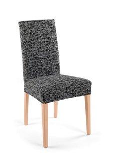 Чехол для стула Мальта (черный/белый) Bonprix
