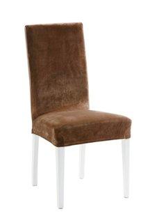 Чехол для стула Сузи (коричневый) Bonprix