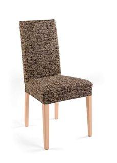 Чехол для стула Мальта (коричневый/кремовый) Bonprix