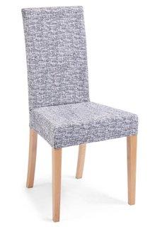 Чехол для стула Мальта (белый/черный) Bonprix