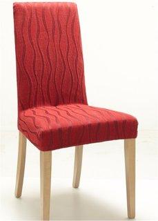 Чехол для стула Вена (красный) Bonprix
