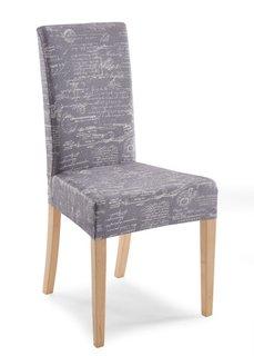 Чехол для стула Винтаж (серый) Bonprix
