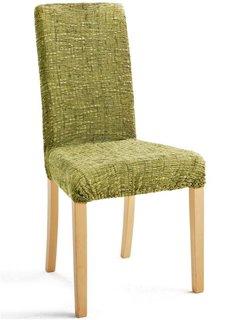 Чехол на стул Эла (зеленый) Bonprix