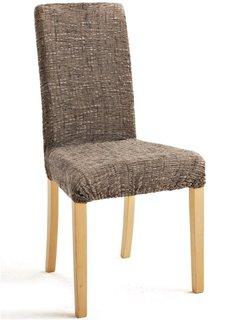 Чехол на стул Эла (коричневый) Bonprix