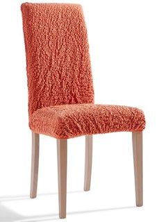 Чехол на стул Кринкл (терракотовый) Bonprix