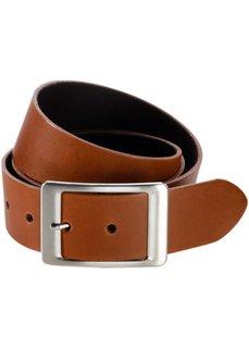 Кожаный ремень Kayla (коричневый) Bonprix