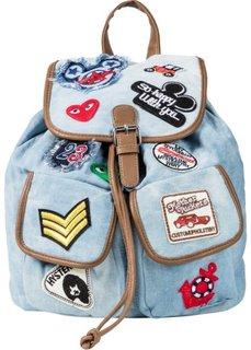 Рюкзак (нежно-голубой) Bonprix