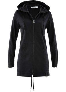 Трикотажная куртка-парка (черный) Bonprix