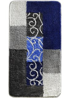 Коврик для ванной Milano (синий/серый) Bonprix