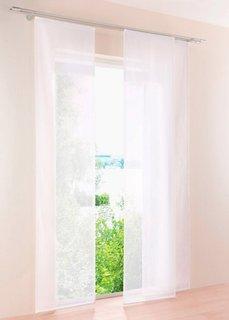 Японская штора Уни, Шина с лентой велкро, 1 шт. (белый) Bonprix