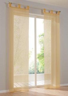 Японская штора Уни, петли, 1 шт. (солнечно-желтый) Bonprix