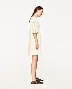 Кроссовки с цветочным принтом Zara