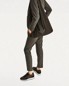 Сумка-мешок с деталью в виде стрелки Zara