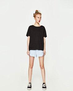 Кроссовки из ткани Zara
