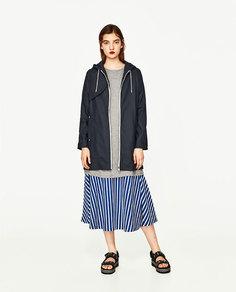 Пальто-дождевик Zara