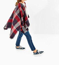 Кроссовки из джинсовой ткани с эффектом потертости Zara