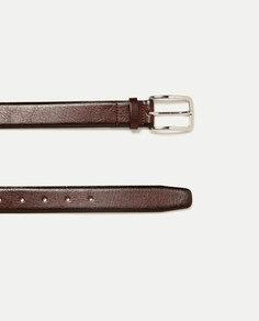 Кожаный пояс Zara