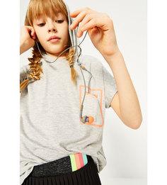 Толстовка из высокотехнологичной ткани с короткими рукавами Zara