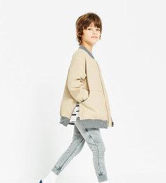 Куртка-бомбер с молниями Zara