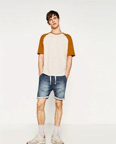 Джинсы из бархатистой джинсовой ткани Zara