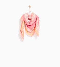 Жаккардовый платок Zara