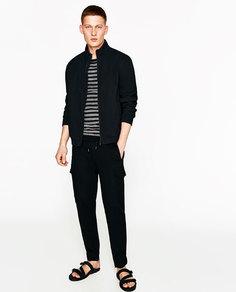 Брюки карго soft Zara