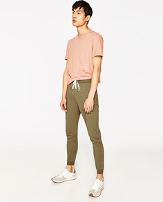 Цветные брюки-джоггеры Zara