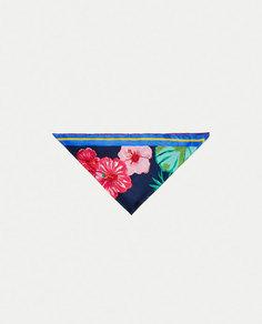 Платок-бандана с цветочным принтом Zara
