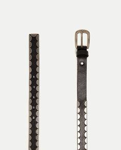 Пояс с металлическими деталями Zara