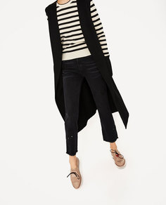 Туфли-блюхерс с надписью, на платформе Zara
