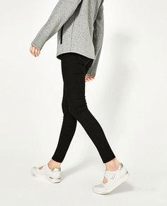 Кроссовки с застежкой на липучку Zara