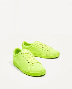 Однотонные кроссовки Zara