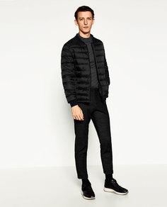 Базовая стеганая куртка Zara