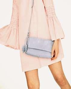 Сумка с плечевым ремнем Zara