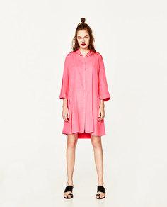 Платье с разрезами Zara