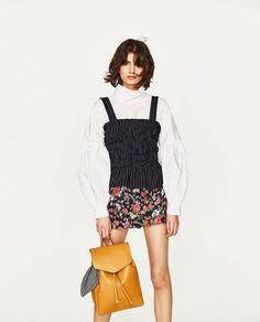 Рюкзак с платком Zara