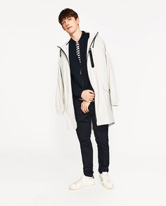 Куртка-бомбер с текстурным узором Zara