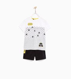 Короткая пижама «звездные войны» Zara
