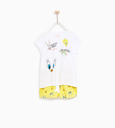 Пижама looney tunes Zara