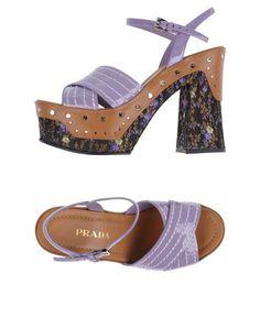 Сандалии и босоножки Prada – купить в интернет-магазине в Москве ... 1dc50fb5db6