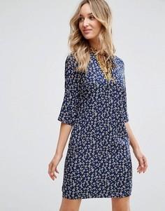 Платье-туника с принтом Sugarhill Boutique - Мульти