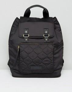 Атласный рюкзак Abercrombie & Fitch - Черный