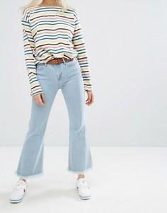 Укороченные джинсы с завышенной талией M.i.h Jeans Lou - Синий